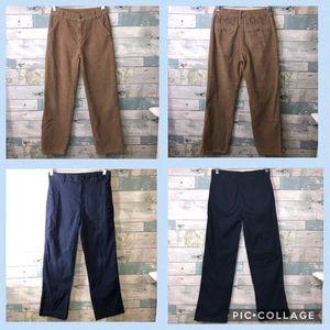 Gymboree Bundle 2pc Boys Pants Size 12